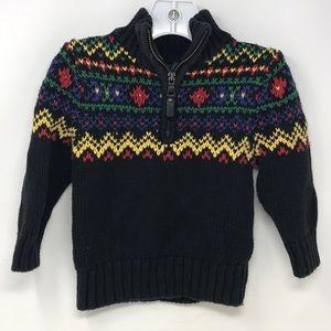 Polo Ralph Lauren 2/2T 1/4 zip sweater
